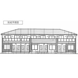 外観,1LDK,面積47.66m2,賃料5.4万円,つくばエクスプレス つくば駅 3.6km,つくばエクスプレス 研究学園駅 6.8km,茨城県つくば市古来