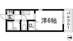 ペルメ[2階]の間取り