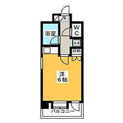 朝日プラザ博多VII[9階]の間取り