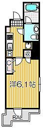 東京都品川区小山3丁目の賃貸マンションの間取り