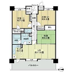 LM小鶴新田センターパーク[10階]の間取り