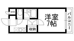 アメニティハウス[0200号室]の間取り