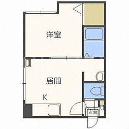 アイビーパレス29[1階]の間取り