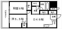 シティビル5[6階]の間取り