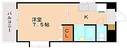 サニーピア弥永[3階]の間取り