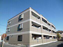 東京都日野市万願寺4丁目の賃貸マンションの外観