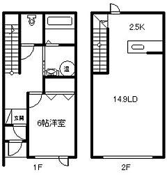 新築 エレノア[1階]の間取り