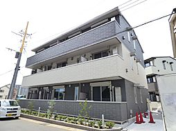 千葉県流山市十太夫の賃貸アパートの外観