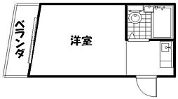 DH第一ビル[3A号室]の間取り
