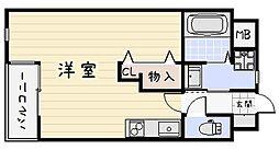 サンシャインIII[402号室]の間取り