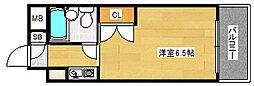 アニメイト大阪[3階]の間取り