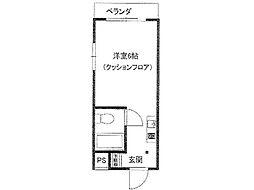 ムンドカーサ高木[1階]の間取り