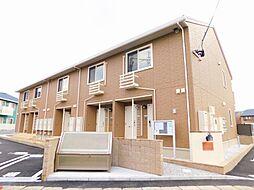 福岡県北九州市小倉南区横代北町3丁目の賃貸アパートの外観