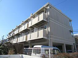 千葉県千葉市美浜区高洲1丁目の賃貸アパートの外観