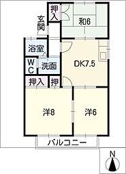 Annex近藤[1階]の間取り