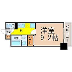 REGALO覚王山[3階]の間取り