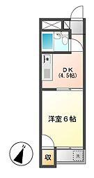 サンパレス覚王山2[4階]の間取り