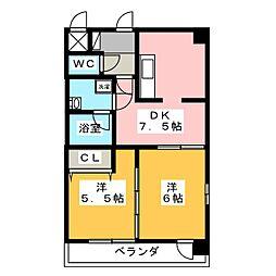 willDo桜川[12階]の間取り