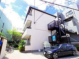東京都練馬区南田中2丁目の賃貸アパートの外観