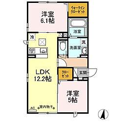 仮)新築D-room 円行2丁目[1階]の間取り