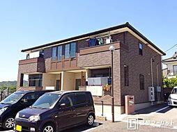 愛知県豊田市西中山町稲場の賃貸アパートの外観