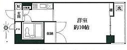 東京都杉並区天沼3丁目の賃貸マンションの間取り