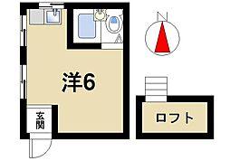 みるくマンション[3階]の間取り