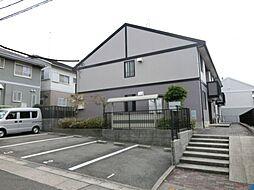 愛知県名古屋市緑区大高町字藤塚の賃貸アパートの外観