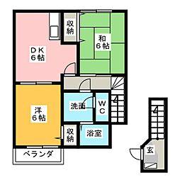 プリーマハウス[2階]の間取り