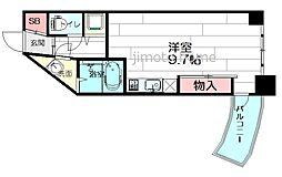 フォレステージュ江坂垂水町[7階]の間取り