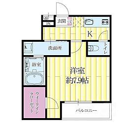 大阪府吹田市垂水町2丁目の賃貸アパートの間取り