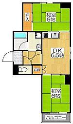 森新ビル[3階]の間取り