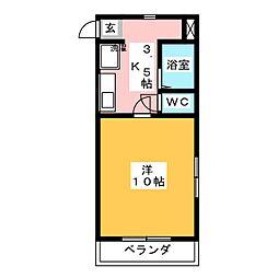 サンメイツ[3階]の間取り