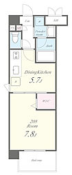 トビーズ第3ビル[3階]の間取り