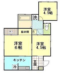 [一戸建] 神奈川県横須賀市三春町4丁目 の賃貸【/】の間取り