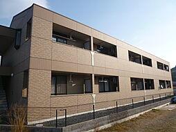 岡山県倉敷市広江1の賃貸アパートの外観