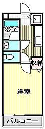 大阪府和泉市伯太町6の賃貸アパートの間取り