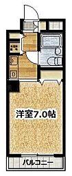 ローズマンションR&A[3階]の間取り