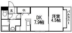 アルファコート平岸2条[305号室]の間取り