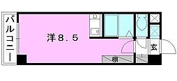 CASA FELIZ[302 号室号室]の間取り