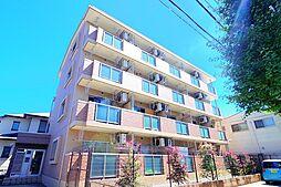 東京都東久留米市滝山7の賃貸マンションの外観