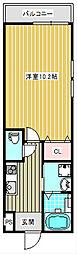 フジパレス粉浜II番館[101号室]の間取り