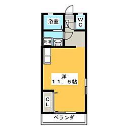 チェリーストーンII[2階]の間取り