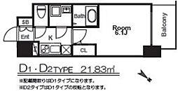 エスリード福島グレイス[9階]の間取り