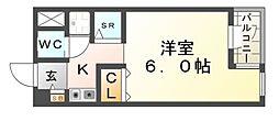 ポピーハイツI[2階]の間取り