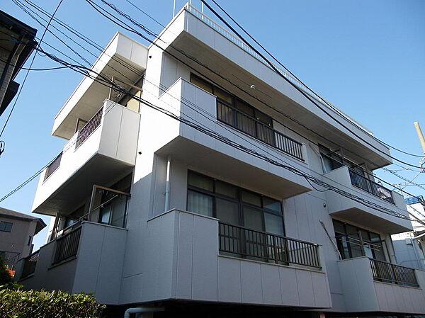 東京都足立区西綾瀬1丁目の賃貸マンションの外観