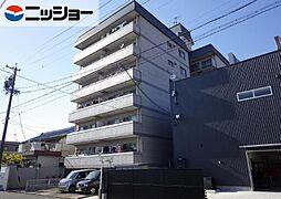 OS・SKYマンション中島新町[1階]の外観
