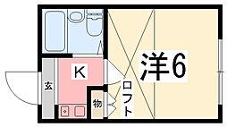 メゾン・ド・KY西飾磨[106号室]の間取り