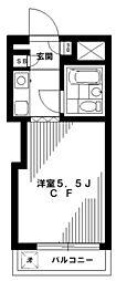NHレジデンス中野[4階]の間取り