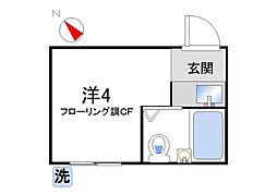 とみい荘[106号室]の間取り